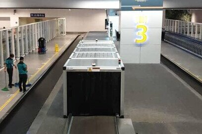 KL International Airport has started disinfecting arriving baggage with its new automatic ultraviolet disinfection system.