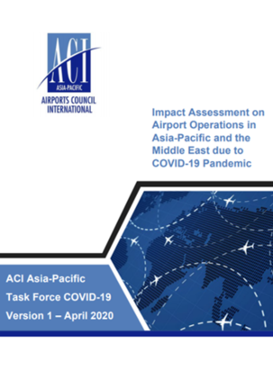 Impact Assessment on Airport Operations in Asia-Pacific and the Middle East due to COVID-19 Pandemic