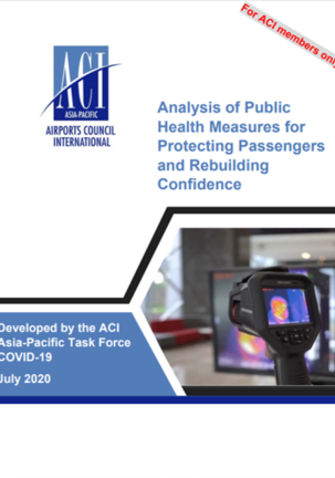 Analysis of Public Health Measures for Protecting Passengers and Rebuilding Confidence