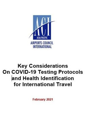 Position Paper with key considerations on COVID-testing and passenger health identification