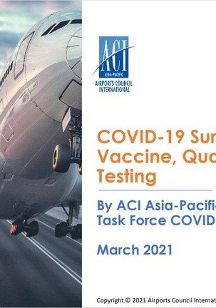 Survey on impact of COVID variants on travel restrictions, testing and quarantine regimes and operational considerations and challenges for airports.